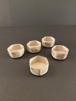 Shino Bowls (set of five) [DW-B 415]