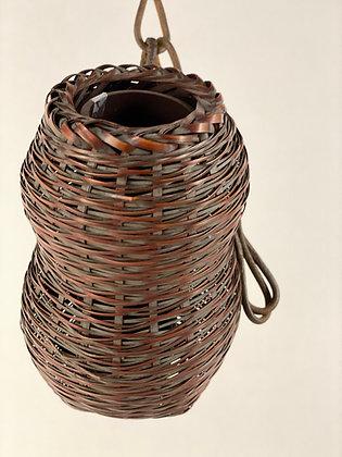 Bamboo hanging Vase [TI-V 413]