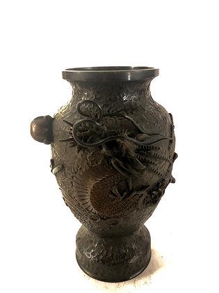 Signed Bronze Vase [H-V 308]