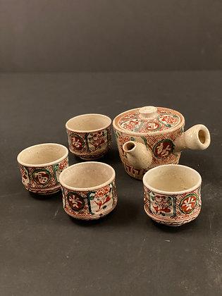 Bankoyaki tea set [DW-PO 342]