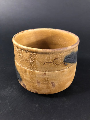 Seto Oribe Tea Bowl [TI-C 225]