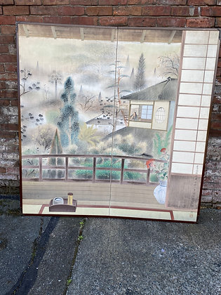 Showa period Tea house Screen [A-SC 166]
