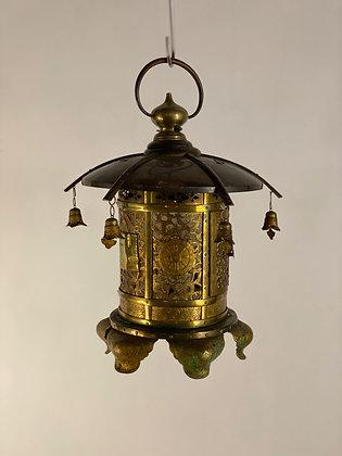 Bronze lantern, dated Meiji [G-L 192]