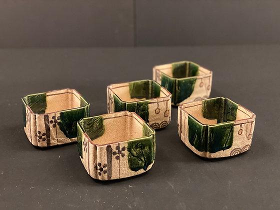 Oribe Bowls (set of five) [DW-B 298]