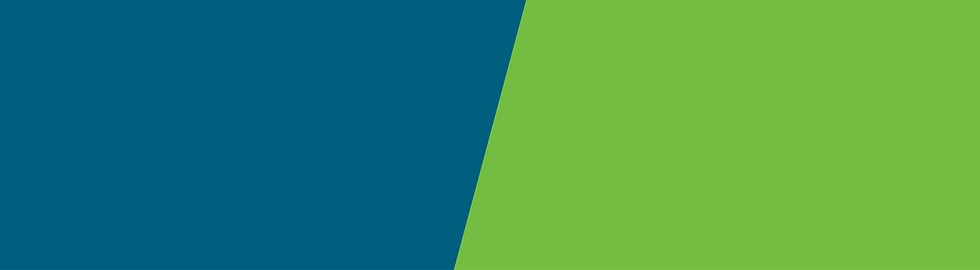 blue and green color with diagonal divide
