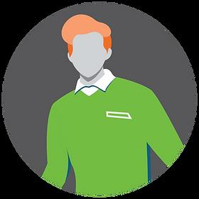 Icon of PromoSpark sales rep