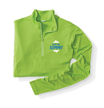 customized athletic pullover for race