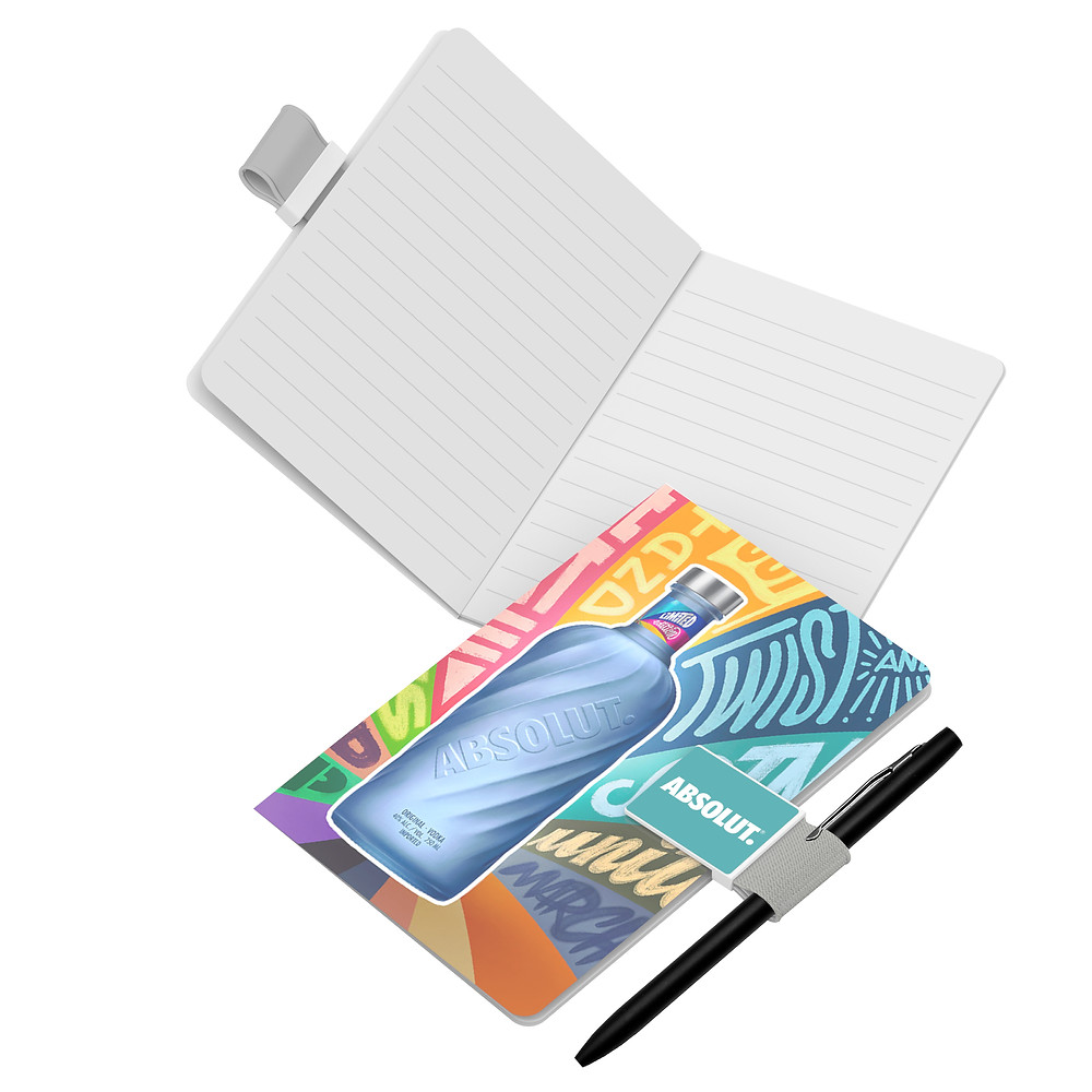 closed notebook