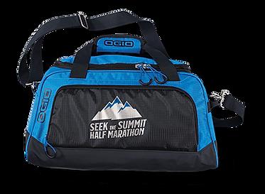 half marathon custom duffle bag