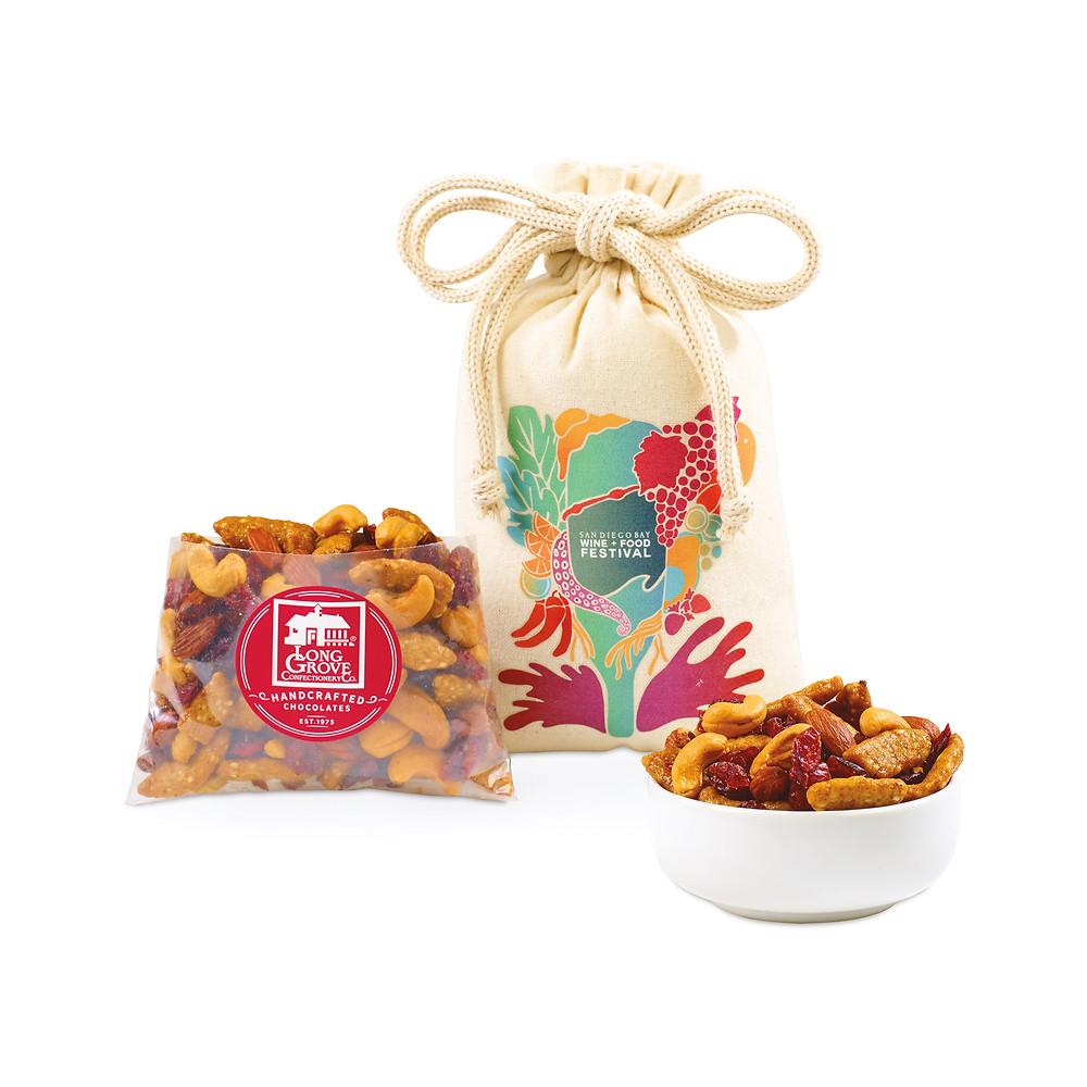 bag of nut blend gift