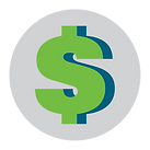 Dollar sign representing cheap promotional prices