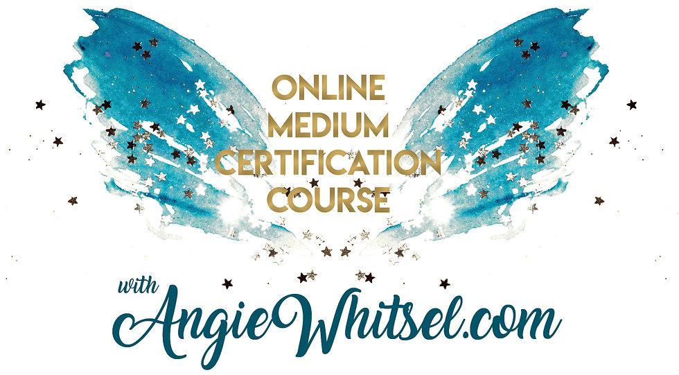Online Medium Certification Course logo.
