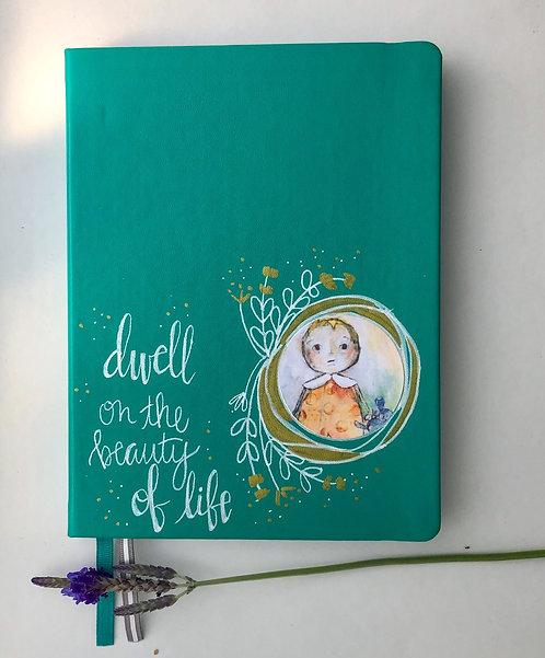 """Dwell"" Journal/ Teal"