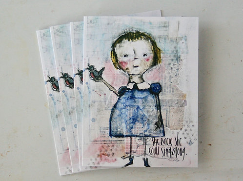 Soul Sister Notecards