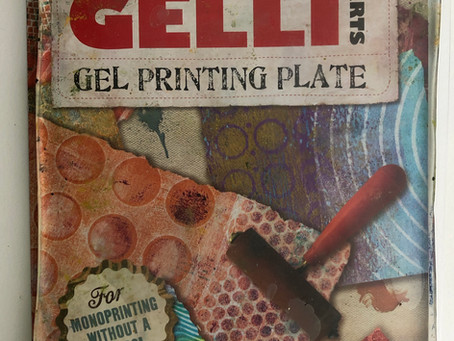 Let's Get Messy In The Best Way With A Gelli Plate