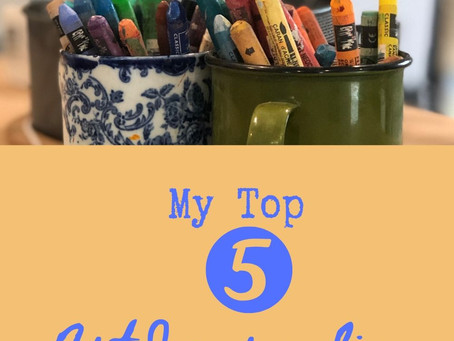 5 Of My All Time Favorite Art Journaling Supplies