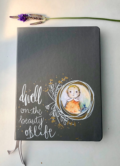 """Dwell"" Journal/Grey"