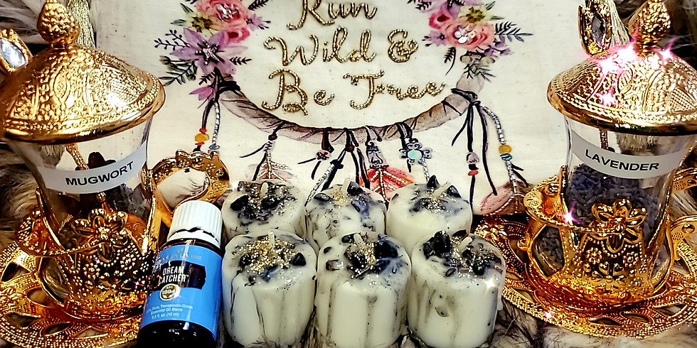 HOW TO: create a FULL MOON Intention Candle