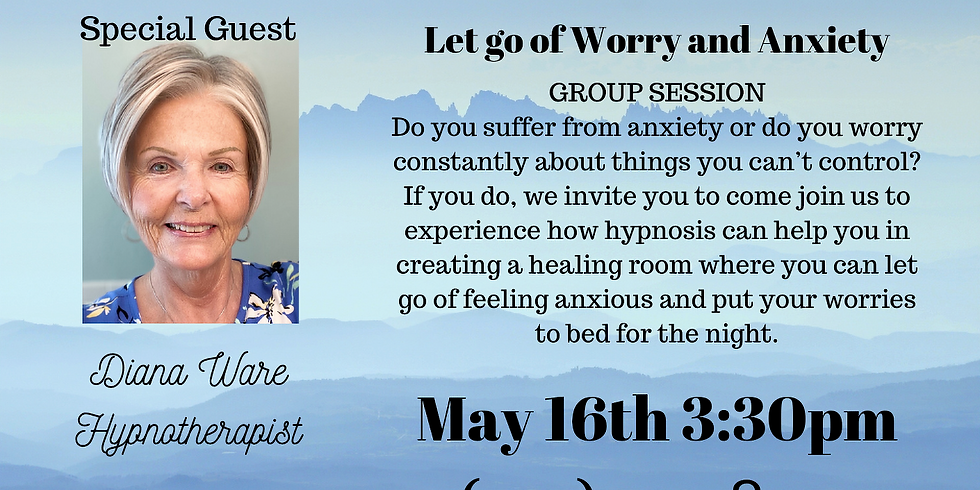 Intro to Hypnotherapy~ Anxiety