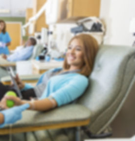 Woman Donating Blood