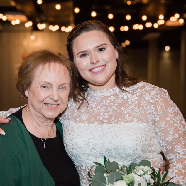 Bride & her grandmother