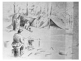 Патизанский рисунок
