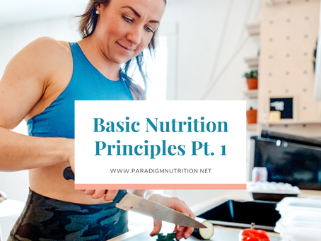 Is your diet considering these nutrition principles?