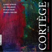 The Gramophone, the world's premiere classical music magazine, reviewed the newly released CD Cortège by violinist and Veronique Mathieu and pianist Jasmin Arakawa in its special issue: Best Albums and Artists.