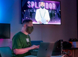 Digital Worlds Institute partnered with the School of Music and School of Theatre and Dance to transform the annual benefit gala Splendor to a digital, live-streaming format, raising $48,000 for students and programs.
