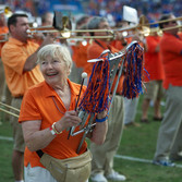 Sophie Mae Mitchell is remembered as first woman to march in the Gator Band.