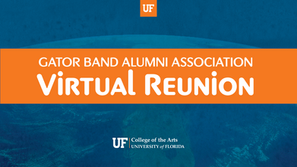 Gator Band Alumni Association moved their annual reunion online, raising $19,000 for the Gator Marching Band.