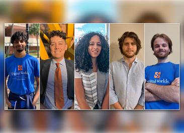 Digital Worlds MiDAS cohort built a track record of hackathon success, winning multiple awards at national events.
