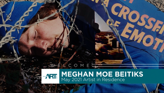 Moe Beitiks postponed her residency at Rogers Art Loft until May so she could travel to work with light site-specificity in Las Vegas.