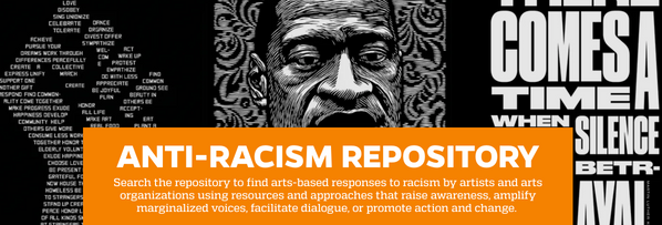 Natalie Rella developed the anti-racism arts response repository, an open-access repository is designed to highlight and enable impactful arts-based responses to racism, highlighting work undertaken since the murder of George Floyd.
