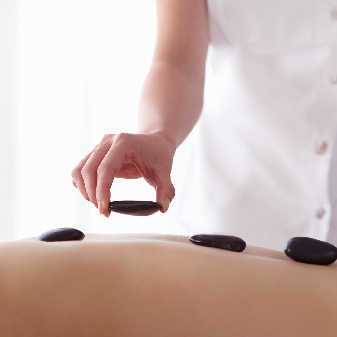 The healing power of heat is combined with traditional massage techniques. Tension melts away as warm stones are used over the entire body, radiating deep into tight muscles and bringing your body into a state of deep relaxation.