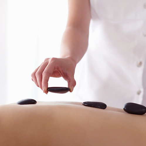 Hot Stone Massage  - 60 Min