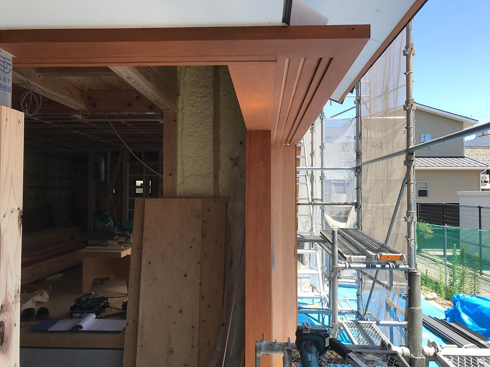 長浜 工務店 木製サッシ