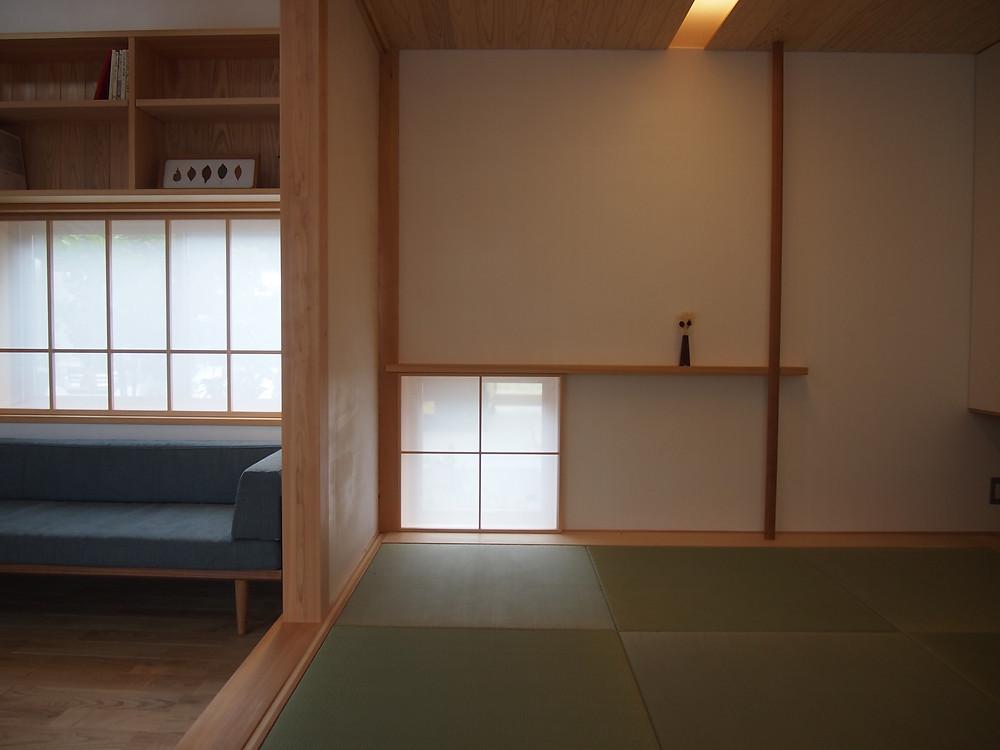 畳の間 和室 木の家 滋賀 工務店