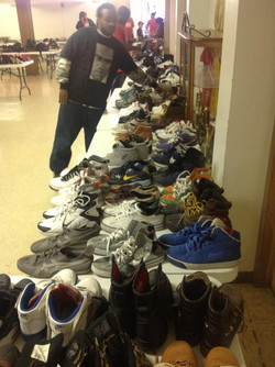 2nd Annual Shoe Drive