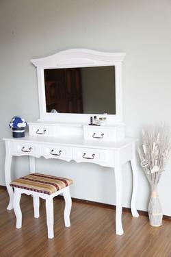 Set măsuță toaletă cu 5 sertare