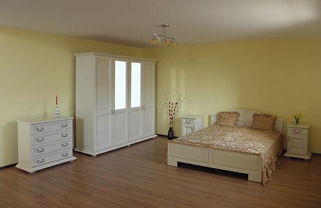 Dormitor PRO 4 uși oglindă