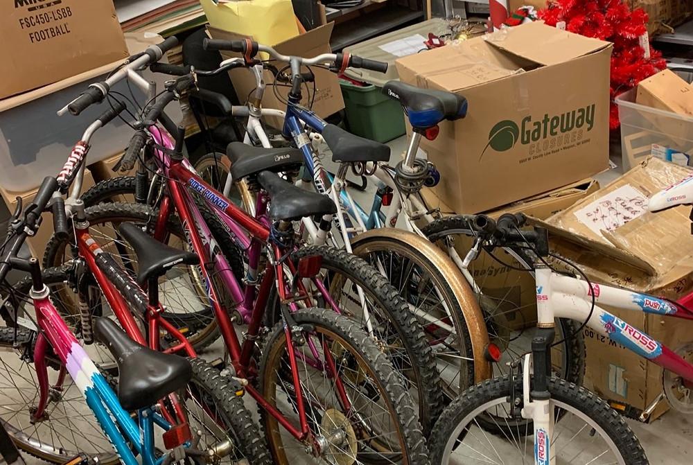 bikes donated west island community