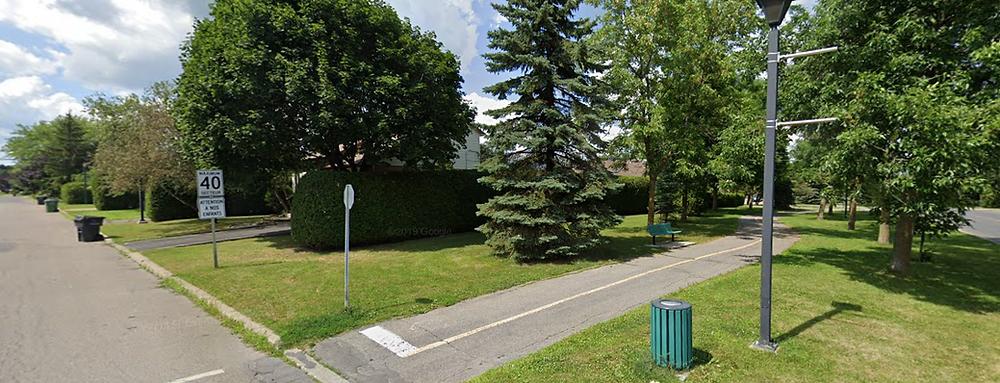 "The ""Island"" Path. Image Courtesy Of Google Maps"