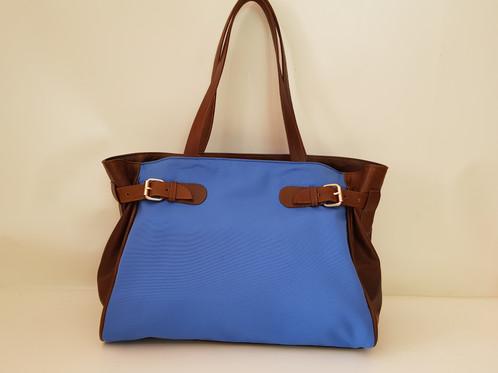 Capri Bag SUMMER Fabrics   Leather Sides  9a551c175d6d2