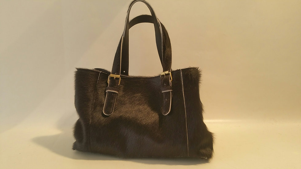 Alice Bag Cowhide MEDIUM black