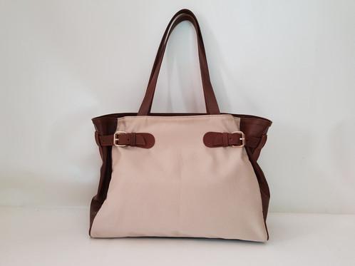 Capri Bag SUMMER Fabrics   Leather Sides 4786ead55901e