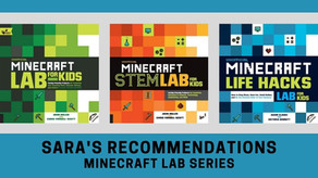 Staff Recommendation: Minecraft Lab Books