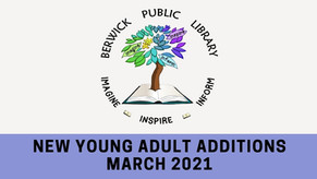 New Young Adult Additions - March 2021