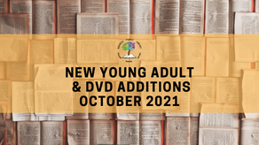 New  YA and DVD Additions - October 2021