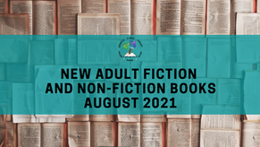 New Adult Fiction and Non-Fiction: August 2021